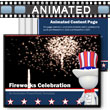 ID# 3036 Fireworks Celebration PowerPoint Template