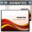 ID# 3448 Designer Flow PowerPoint Template