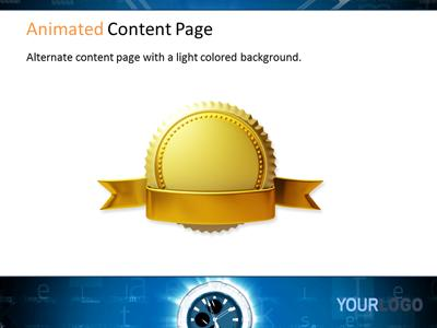 Digital CountDown PowerPoint Template
