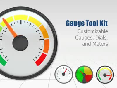 ID# 3900 - Gauge Tool Kit - PowerPoint Template