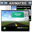 ID# 3951 Road To Success PowerPoint Template