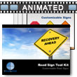 Road Sign Tool Kit PowerPoint template