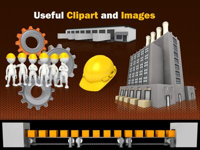 Manufacturing element a powerpoint template from presentermedia home powerpoint templates toneelgroepblik Images