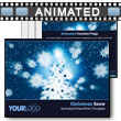 Christmas Snow - PowerPoint Template