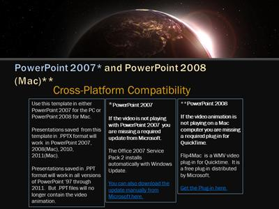 Eclipsed earth a powerpoint template from presentermedia toneelgroepblik Images