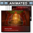 ID# 4329 Christmas Holiday Bell Ringing PowerPoint Template