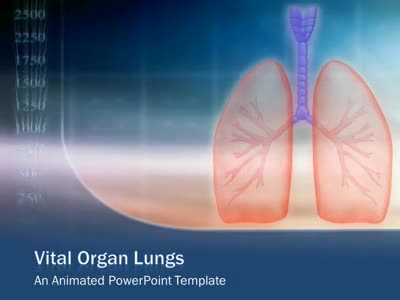 Vital organ lungs a powerpoint template from presentermedia id powerpoint template toneelgroepblik Choice Image