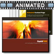 ID# 4468 Liquid Fire PowerPoint Template
