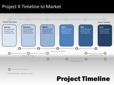 Navigate Timeline  A Powerpoint Template From PresentermediaCom