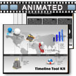 ID# 4584 Timeline Tool Kit PowerPoint Template