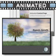 ID# 4961 Organic Growth PowerPoint Template