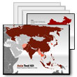 ID# 5074 Asia Map Tool Kit PowerPoint Template