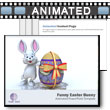 Funny Easter Bunny - PowerPoint Template