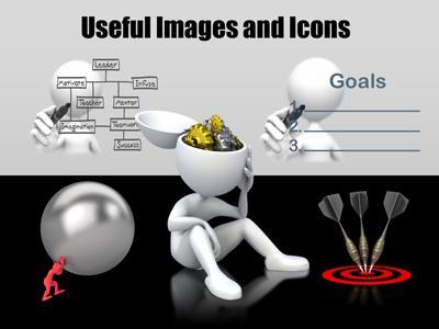 Animated powerpoint templates at presentermedia id5161 standard template write text customizable toneelgroepblik Images