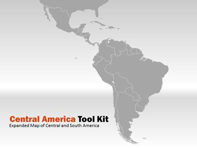 Central america map tool kit a powerpoint template from powerpoint template loading preview close toneelgroepblik Image collections