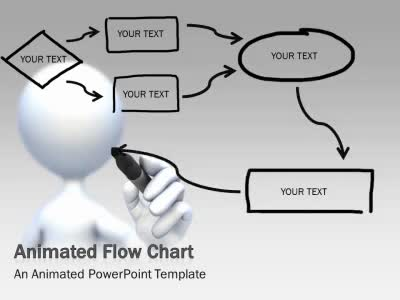 ID# 5183 - Flow Chart Tool Kit - PowerPoint Template