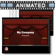 Theater Curtain - PowerPoint Template