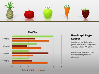 nutritious healthy food - a powerpoint template from, Modern powerpoint