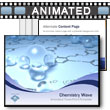 ID# 5430 Chemistry Wave PowerPoint Template