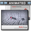 Kinetic Motion Newtons Cradle 	 - PowerPoint Template