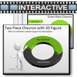 ID# 5778 Two Piece Interactive Chevron Tool Kit PowerPoint Template
