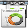 ID# 5782 Three Piece Interactive Chevron Tool Kit PowerPoint Template