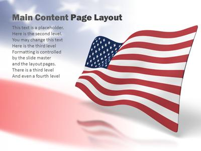 Usa wave a powerpoint template from presentermedia powerpoint template loading preview close toneelgroepblik Images
