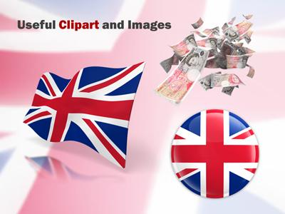 United kingdom flag a powerpoint template from presentermedia home powerpoint templates toneelgroepblik Choice Image