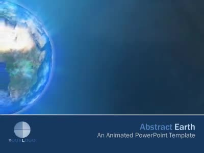 ID# 6277 - Abstract Earth - PowerPoint Template