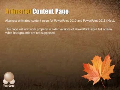 Autumn abstract a powerpoint template from presentermedia home powerpoint templates toneelgroepblik Images