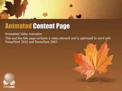 Autumn wind a powerpoint template from presentermedia home powerpoint templates toneelgroepblik Images