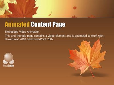 Autumn wind a powerpoint template from presentermedia toneelgroepblik Image collections