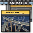 ID# 6476 Freeway Frenzy PowerPoint Template