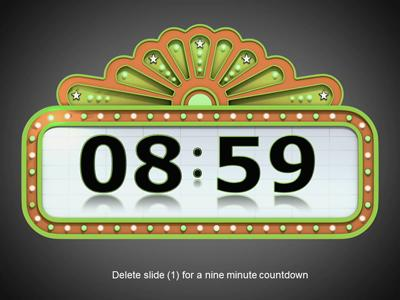 Countdown Timer PowerPoint Template