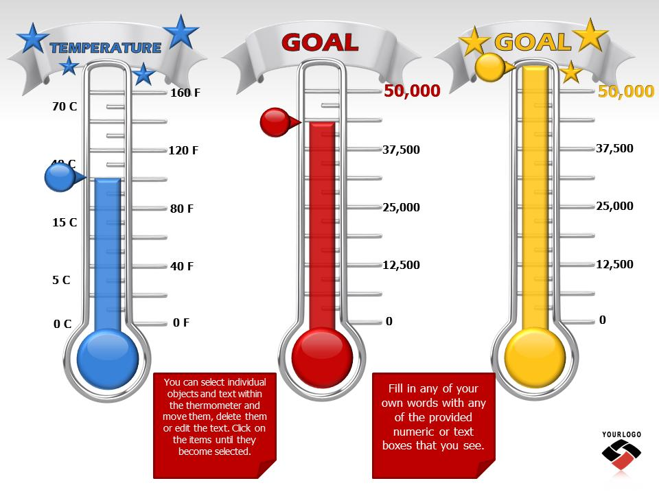 Reaching Your Goal  A Powerpoint Template From PresentermediaCom