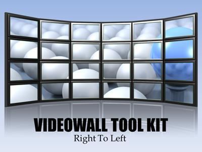 Video Wall Tool Kit PowerPoint Template