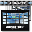 ID# 6838 Video Wall Tool Kit PowerPoint Template
