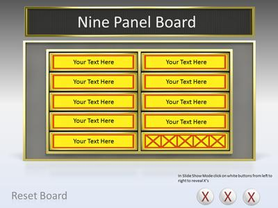 Game Show Tool Kit PowerPoint Template
