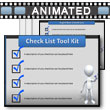 ID# 7203 Check Box Tool Kit PowerPoint Template