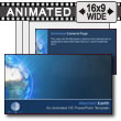 ID# 7234 - Abstract Earth - PowerPoint Template