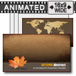 ID# 7253 - Autumn Abstract - PowerPoint Template