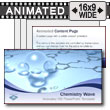 ID# 7285 - Chemistry Wave - PowerPoint Template