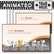 ID# 7287 - Class Answers - PowerPoint Template