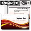 ID# 7289 - Designer Flow - PowerPoint Template