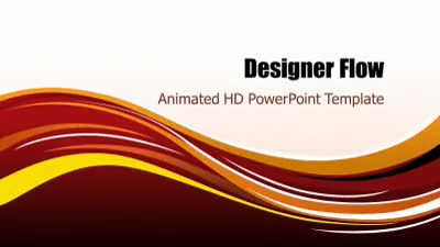 ID# 7289 - Designer Flow - PowerPoint Template