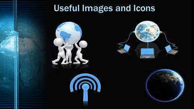 Digital earth a powerpoint template from presentermedia home powerpoint templates toneelgroepblik Gallery