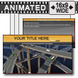 ID# 7307 - Freeway Frenzy - PowerPoint Template