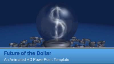 ID# 7310 - Future Of The Dollar - PowerPoint Template