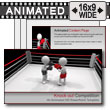 Knock Out Competition PowerPoint template