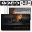 ID# 7357 - Mystic Winter Landscape - PowerPoint Template
